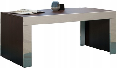 Kafijas galdiņš Pro Meble Milano Wenge/White, 1200x600x500 mm