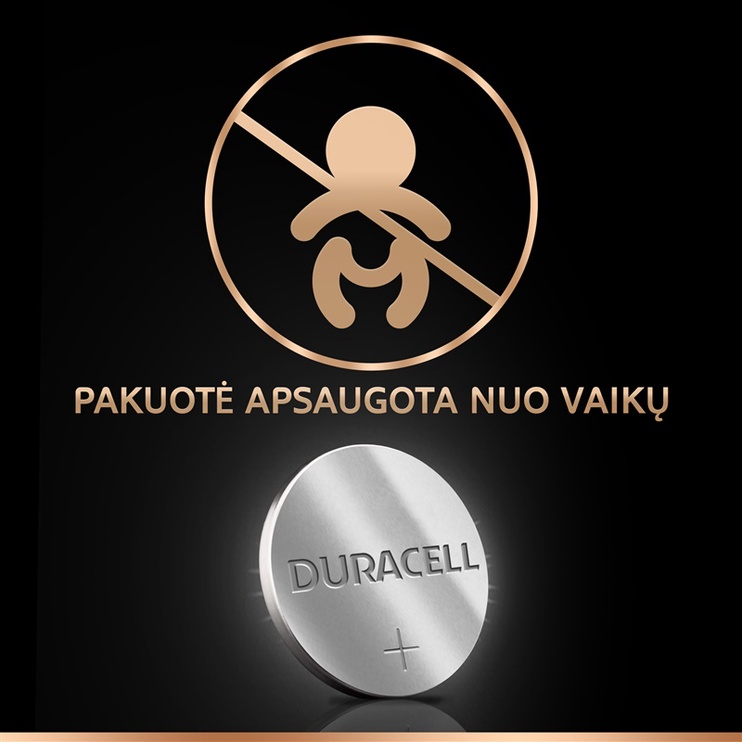 BATERIJA DURACELL ELECTRONICS 2450 1 GA