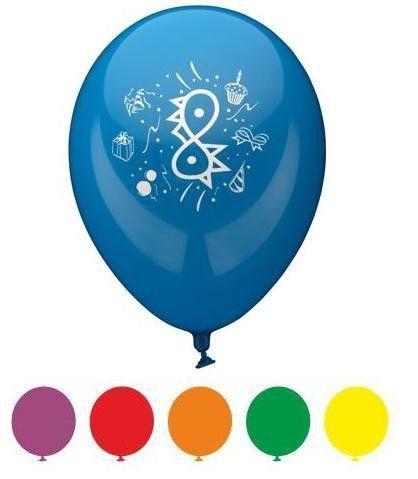 Balons Pap Star Congratulation 4, 6 gab.