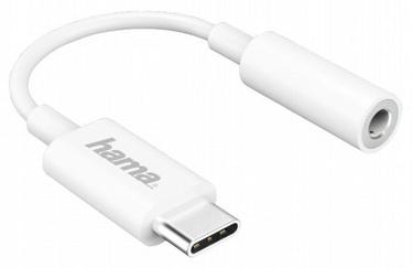 Hama USB-C to 3.5 mm Audio Adapter White