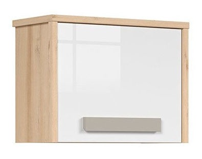 Black Red White Namek Cupboard Beech/White/Grey