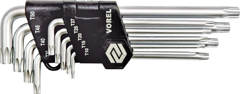 Vorel 56478 Torx Key Set 9pcs