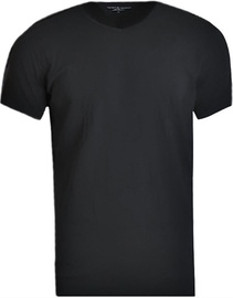 Tommy Hilfiger V-Neck 3 Pack 2S87903767-990 Mens T-Shirt Black XL