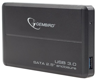 "Gembird 2.5"" HDD External Enclosure w/ USB 3.0 Black"
