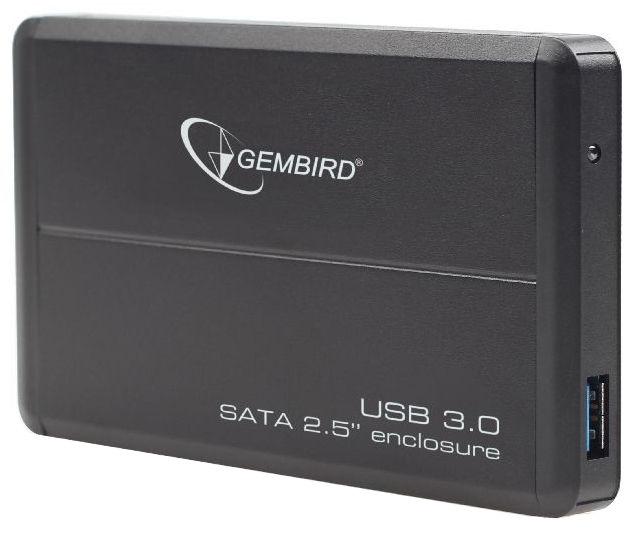 "Gembird 2.5"" HDD External Enclosure w/ USB 3.0 Black"