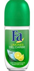Дезодорант для женщин Fa Caribbean Lemon Roll On, 50 мл