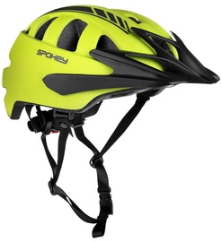 Spokey Helmet Speed Green/Black 55-58cm