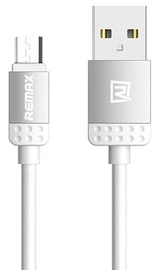 Remax Lovely Universal Micro USB Cable Silver 1m