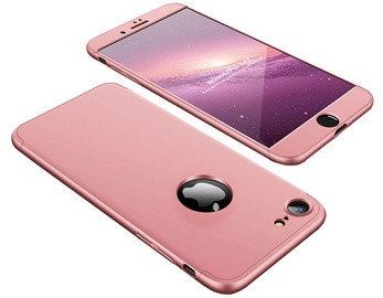 Hurtel 360 Protection Full Body Cover For Apple iPhone 7/8 Pink