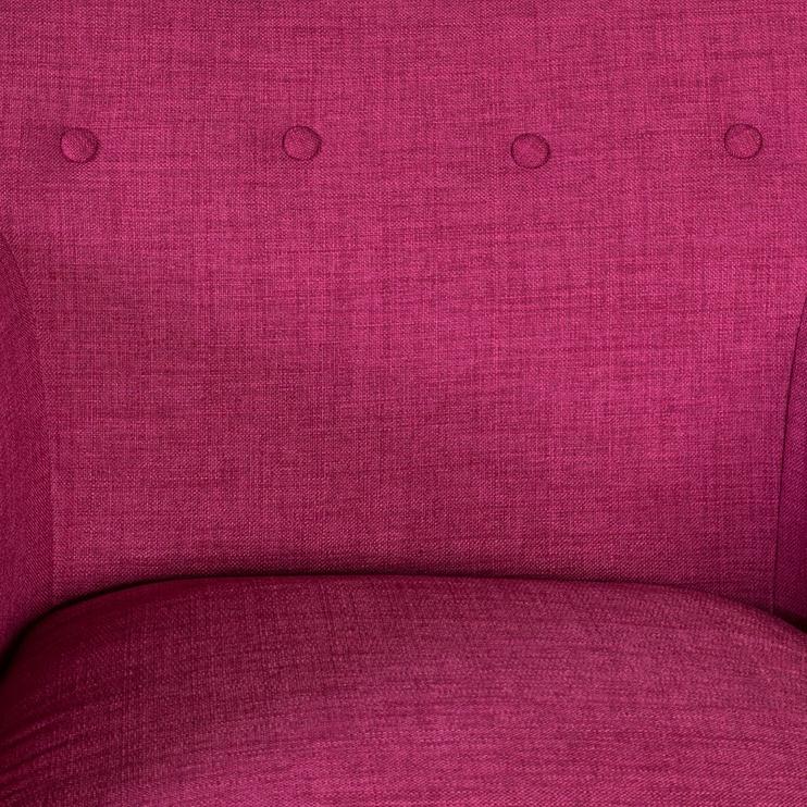 Atzveltnes krēsls Home4you Movie Fuchsia, 83x76x83 cm