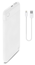 Belkin Boost Charge Power Bank 5000 with Lightning Connector plus Lightning Cable White