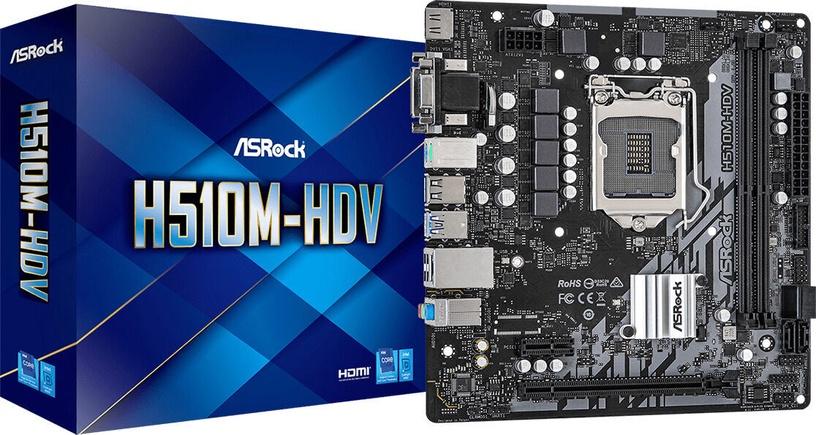 Mātesplate ASRock H510M-HDV
