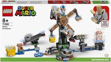 Konstruktors LEGO Super Mario™ Reznor nokdauna paplašinājuma maršruts 71390, 862 gab.