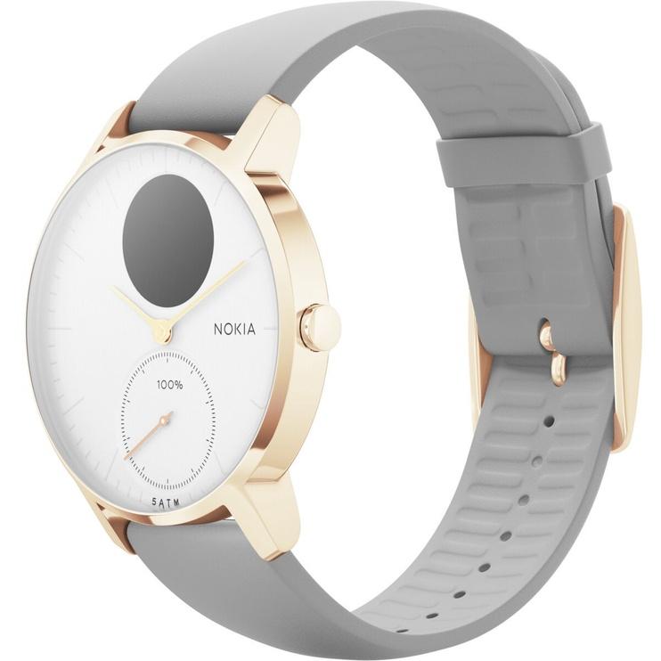 Nokia Steel HR 36mm Rose Gold White Grey