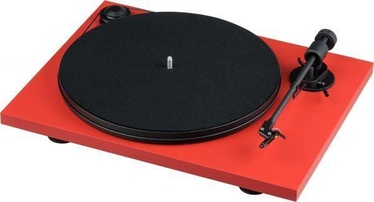 Pro-Ject Primary E Phono Belt-Drive Audio Turntable Red
