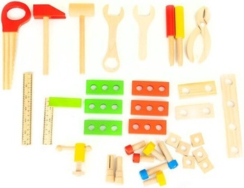 EcoToys Wooden Toolbox Workshop Set XXL
