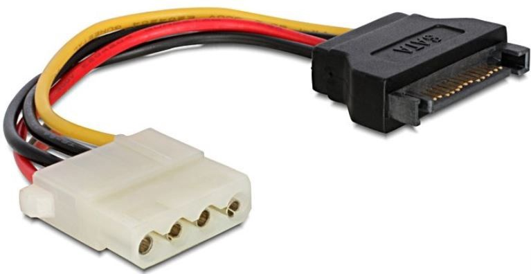 Gembird Cable SATA / Molex 0.15m