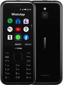 Мобильный телефон Nokia 8000 4G, черный, 512MB/4GB
