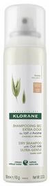 Сухой шампунь Klorane With Oat Milk Dark Hair, 150 мл