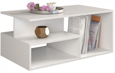 Журнальный столик Top E Shop Prima, белый, 900x510x430 мм