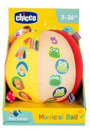 Interaktīva rotaļlieta Chicco Musical Ball 15cm