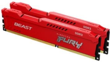 Operatīvā atmiņa (RAM) Kingston Fury Beast DDR3 8 GB CL10 1600 MHz