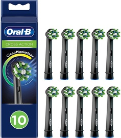 Braun Oral-B Cross Action Toothbrush Heads CleanMaximizer 10psc
