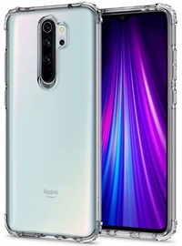 Spigen Crystal Shell Back Case For Xiaomi Redmi Note 8 Pro Crystal Clear
