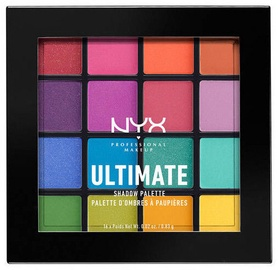 Тени для глаз NYX Ultimate Shadow Palette Brights, 16x0.83 г