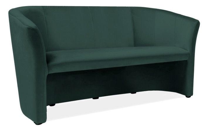 Dīvāns Signal Meble TM-3 Green, 60 x 160 x 76 cm