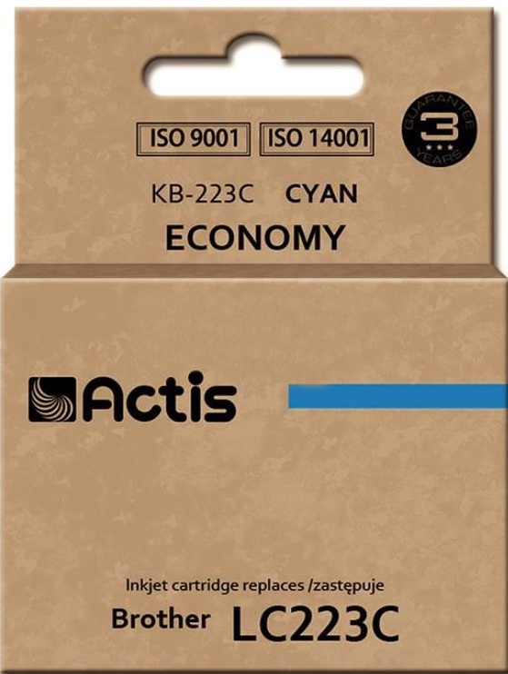 Actis Cartridge For Brother KB-223 Cyan