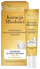 Acu krēms Bielenda Youth Therapy Moisturizing Anti Wrinkle, 15 ml