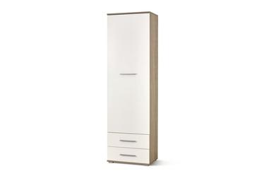 Plaukts Halmar LIMA REG1, brūna/balta, 160x40x200 cm