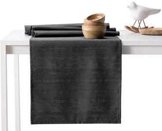 AmeliaHome Vesta AH/HMD Tablecloth DarkGrey 30x100