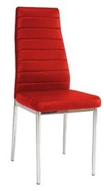 Ēdamistabas krēsls Signal Meble H261 Red, 1 gab.