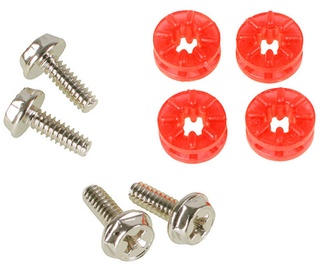 Lamptron HDD Rubber Screws PRO Red