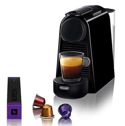 Kapsulas kafijas automāts De'Longhi Essenza Mini EN85.B, melna