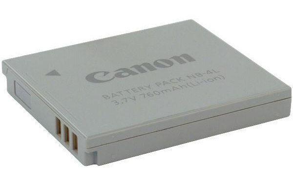 Canon battery NB-4L 760 mAh