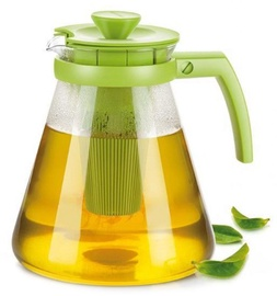 Tescoma Teo Tea Jug With Strainer 1.7l Green