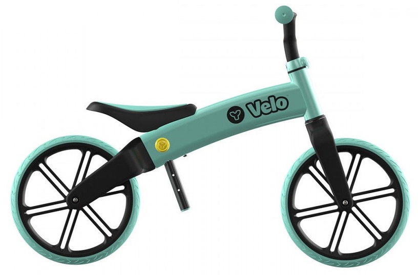 Балансирующий велосипед YVolution YVelo 101052, зеленый, 12″