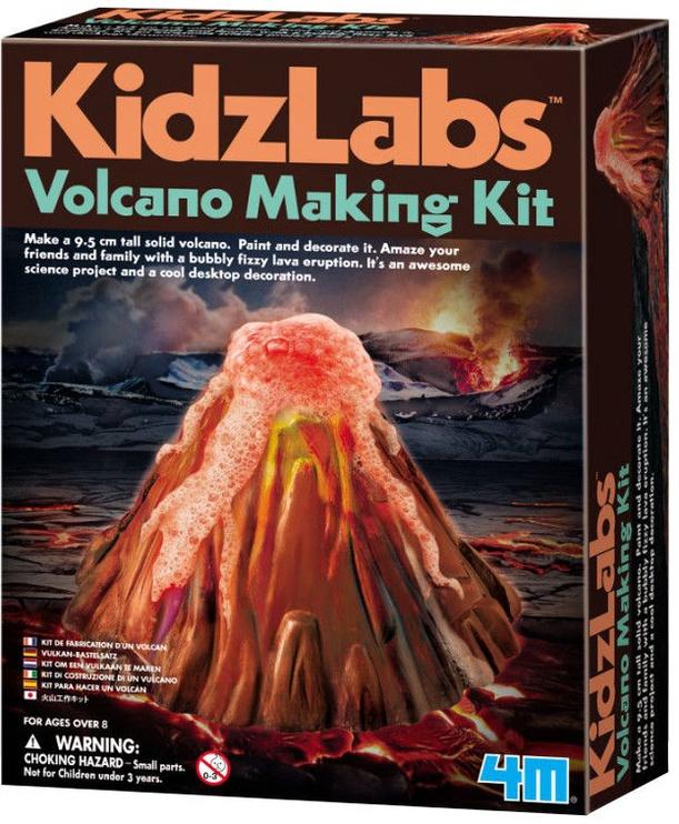 Intelektuāla rotaļlieta 4M KidzLabs Volcano Making Kit 3230