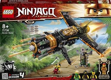 Konstruktors LEGO Ninjago Laukakmeņu blasteris 71736, 449 gab.