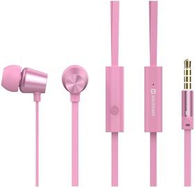 Наушники Swissten YS500 in-ear, розовый