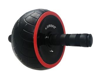Lifefit Exercise Wheel Single Black