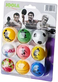 Joola Table Tennis Ball Set Fan 9pcs