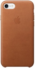 Apple Leather Back Case For Apple iPhone 7/8 Saddle Brown