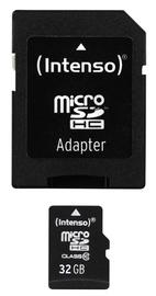 Intenso 32GB Micro SDHC Class 10 + Adapter