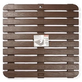 Tatay Shower Platform 55x55cm Brown