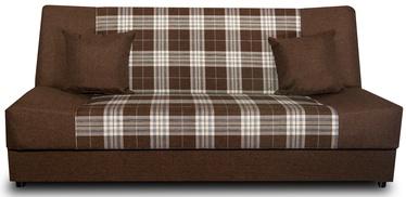 Dīvāngulta Platan Jas Kratka Dark Brown, 188 x 85 x 90 cm