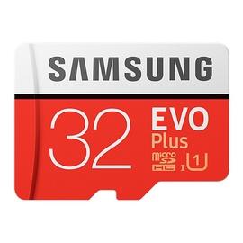 Samsung EVO+ 32GB microSDHC UHS-I Class 10 + SD Adapter